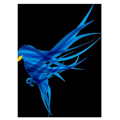 Blue Finch Film Releasing Logo
